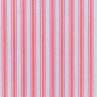 Coton à rayures rose bleu et rouge