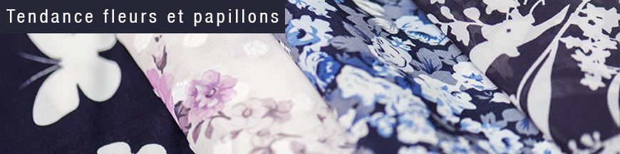 tissus tendance fleurs 2016